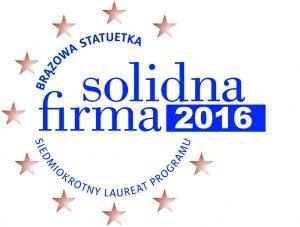 Certyfikat solidna firma 2016