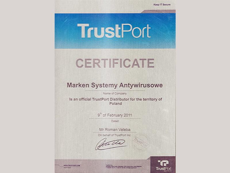 TrustPort-Dystrybutor-marken