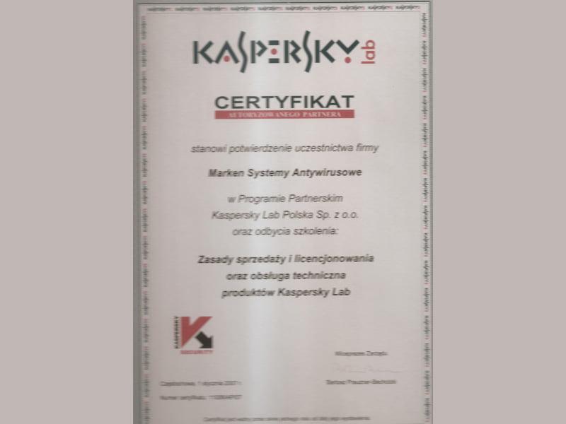 certyfikatkaspersky