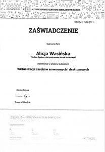AlicjaWasińska_DagmaCertyfikat