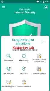 Kaspersky screen 1
