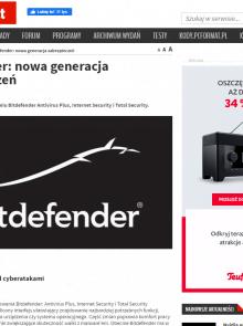Bitdefender: nowa generacja zabezpieczeń