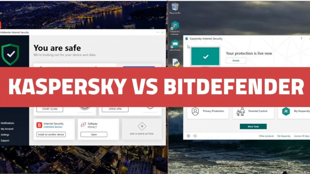 Test najlepszych antywirusów: Bitdefender kontra Kaspersky