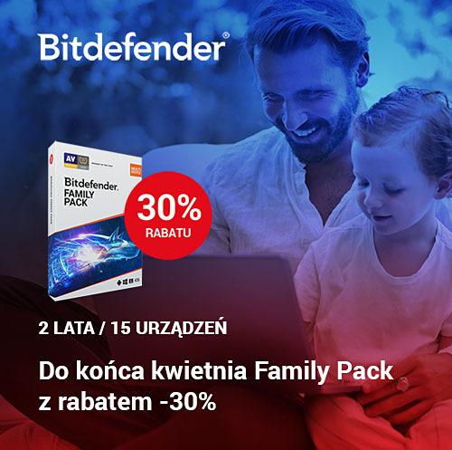 Marken promocja Bitdefender Fmaily Pack kwiecień 2021